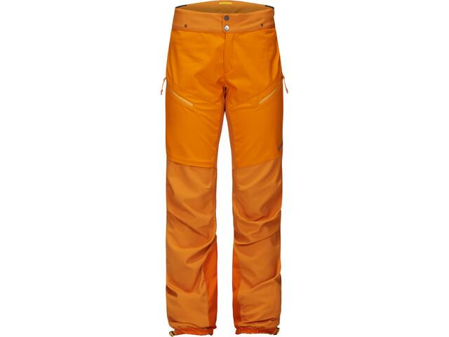 PYUA Spur Pantalones Softshell Mujer, fox orange
